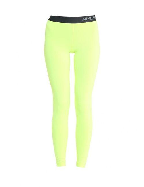 Nike | Мужские Жёлтые Тайтсы