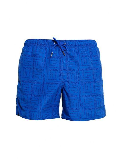 Emporio Armani | Мужские Синие Шорты Для Плавания