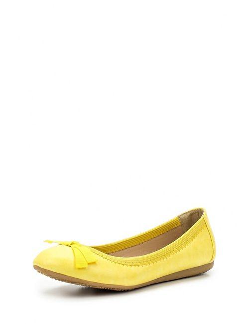 Malien | Женские Жёлтые Балетки