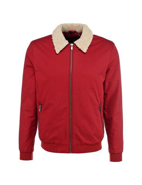 River Island | Мужская Красная Куртка Утепленная