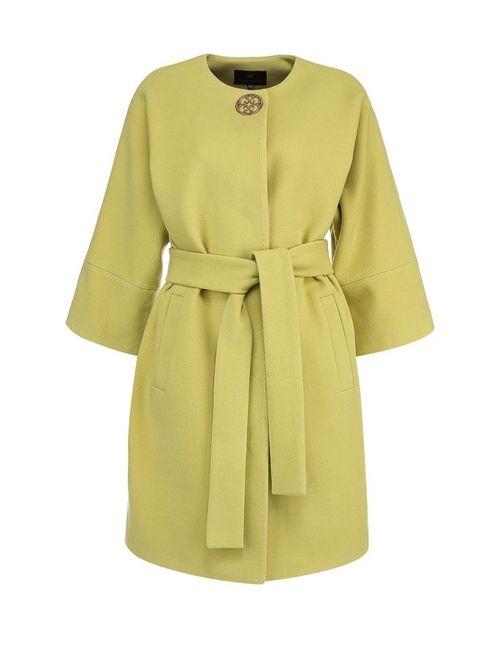 Grand Style | Женское Зелёное Пальто
