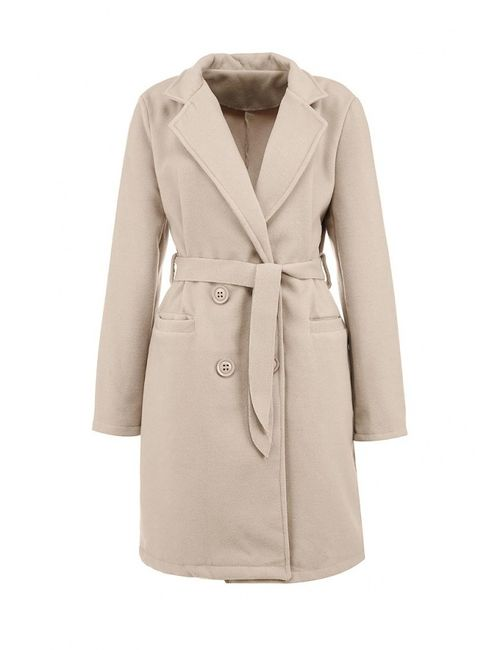 Edge Clothing   Женское Бежевое Пальто