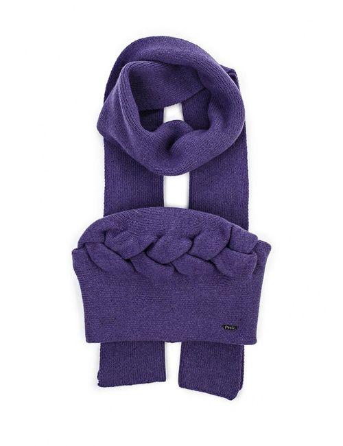 Ferz | Женский Фиолетовый Комплект Шапка И Шарф