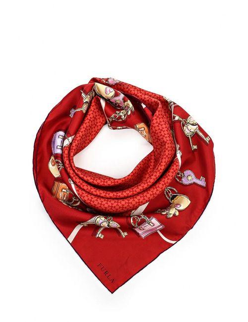Furla | Женский Палантин Scarves Charms W Красный