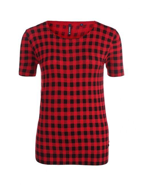 Woolrich | Женская Красная Футболка