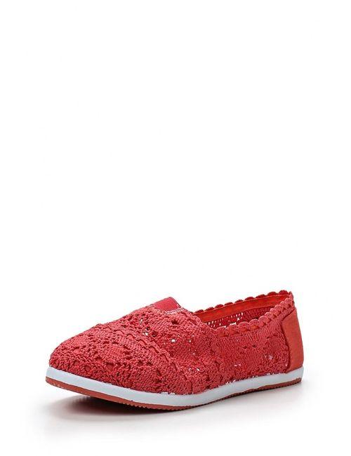Ideal | Женские Красные Слипоны