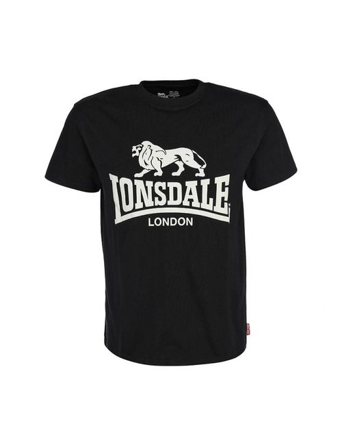 Lonsdale | Мужская Черный Футболка