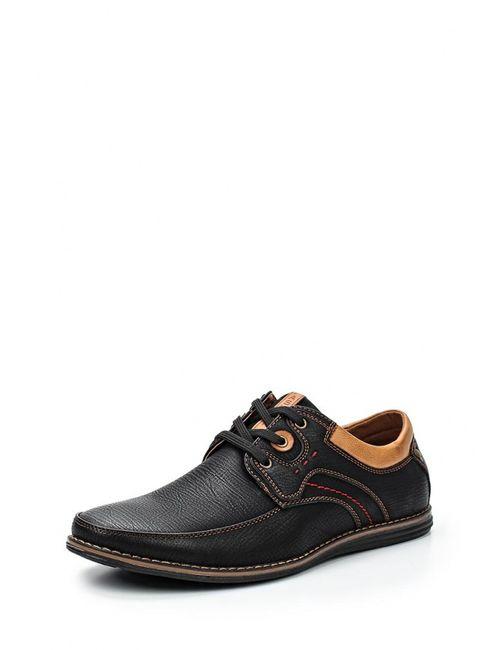 Stesso | Мужские Чёрные Туфли