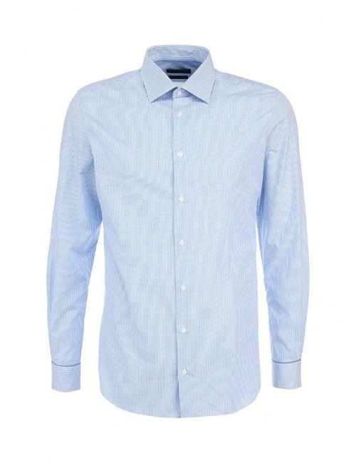 s.Oliver Premium | Мужская Голуба Рубашка