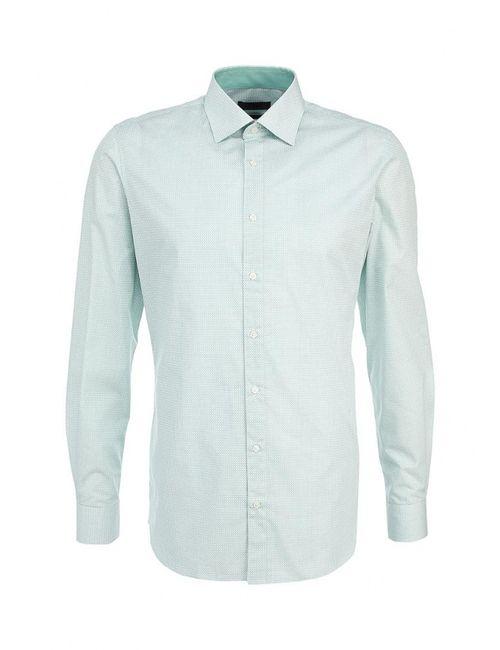 s.Oliver Premium | Мужская Зелёная Рубашка