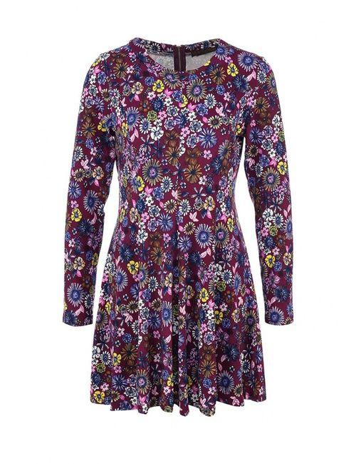 Qed London | Женское Многоцветное Платье