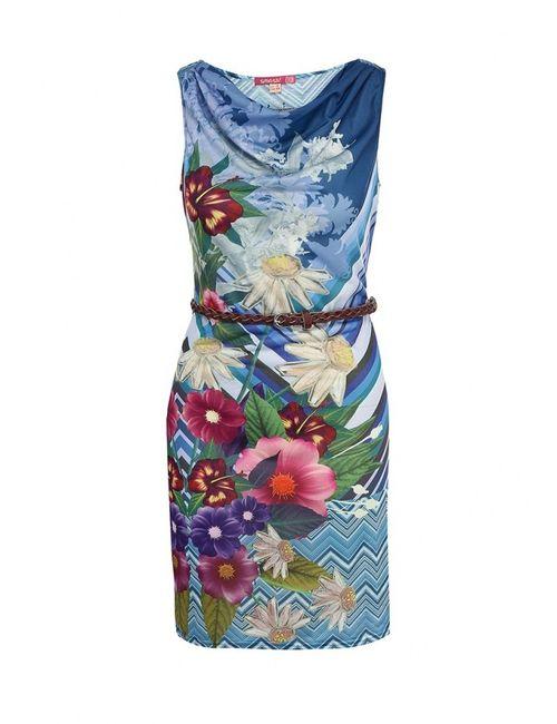 Smash | Женское Синее Платье