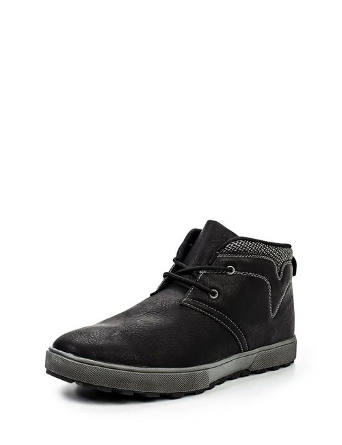 Flair   Мужские Чёрные Ботинки