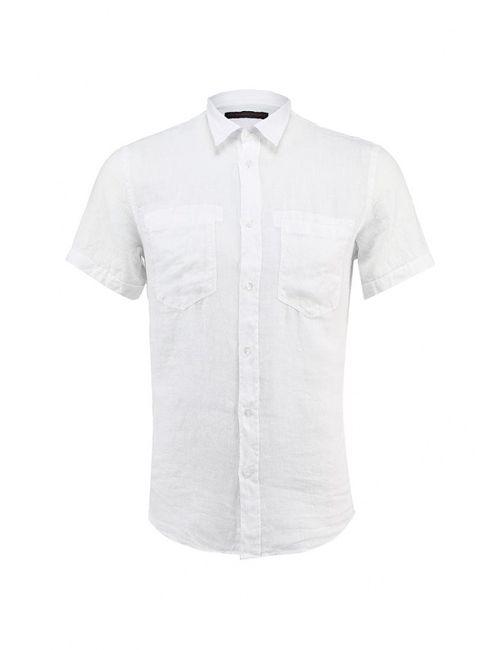 Trussardi Jeans | Мужская Белая Рубашка