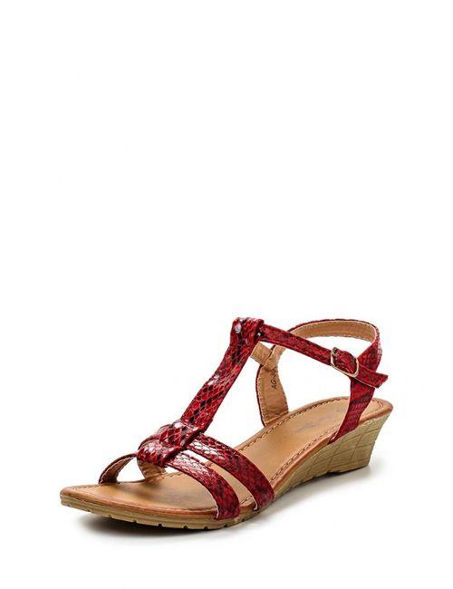 Max Shoes | Женские Красные Сандалии