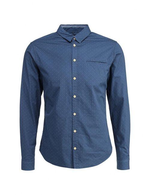 Blend | Мужская Синяя Рубашка