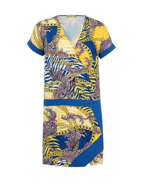 Versace Jeans | Женское Многоцветное Платье
