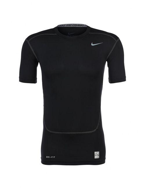 Nike   Мужская Чёрная Футболка Спортивная