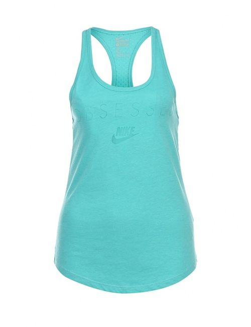 Nike | Женская Голуба Майка