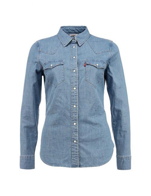Levi's® | Женская Голуба Рубашка Джинсовая