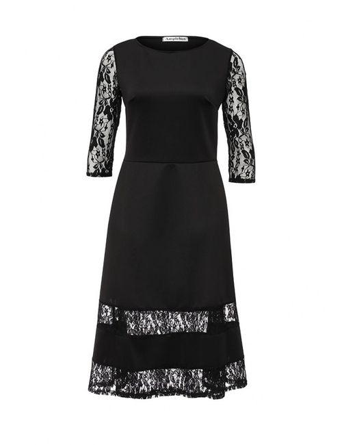 Amplebox | Женское Черный Платье