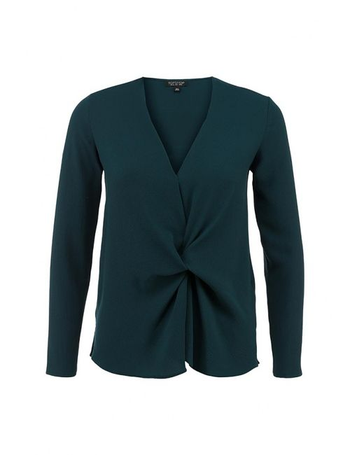 Topshop | Женская Зелёная Блуза