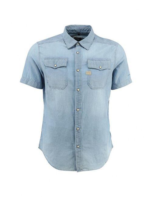 G-Star | Мужская Голуба Рубашка
