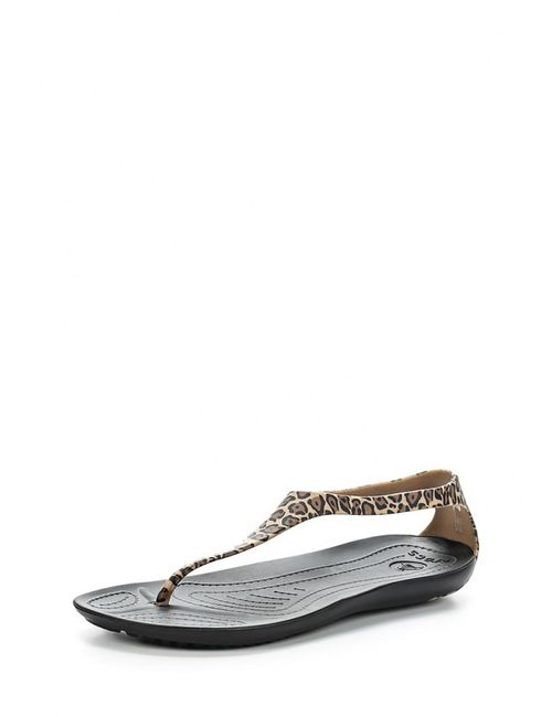 Crocs | Женские Бежевые Сандалии