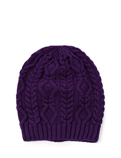 Greenmandarin | Женская Фиолетовая Шапка