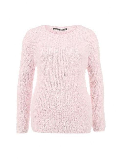 Qed London   Женский Розовый Джемпер
