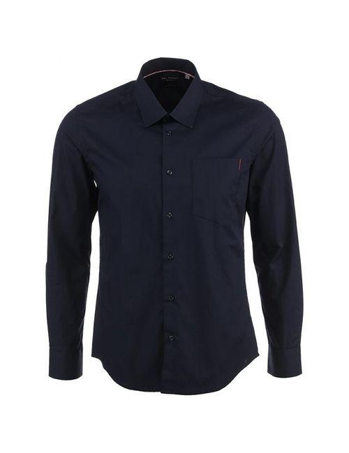 Top Secret | Мужская Синяя Рубашка