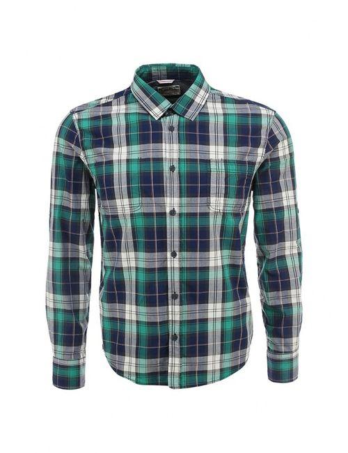 Mudo | Мужская Зелёная Рубашка