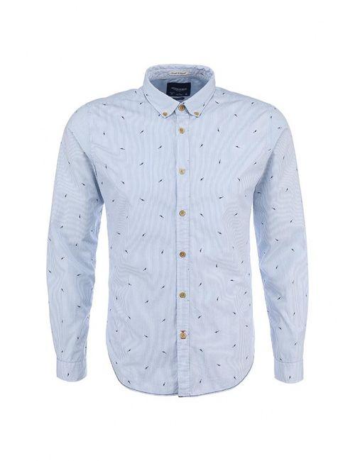 Springfield | Мужская Голуба Рубашка