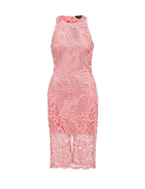 Bebe | Женское Розовое Платье