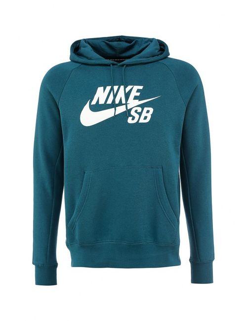 Nike | Мужские Зелёные Худи