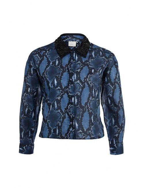 Pinko | Женская Синяя Блуза