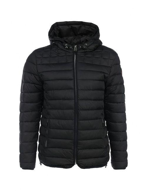 Napapijri   Мужская Чёрная Куртка Утепленная