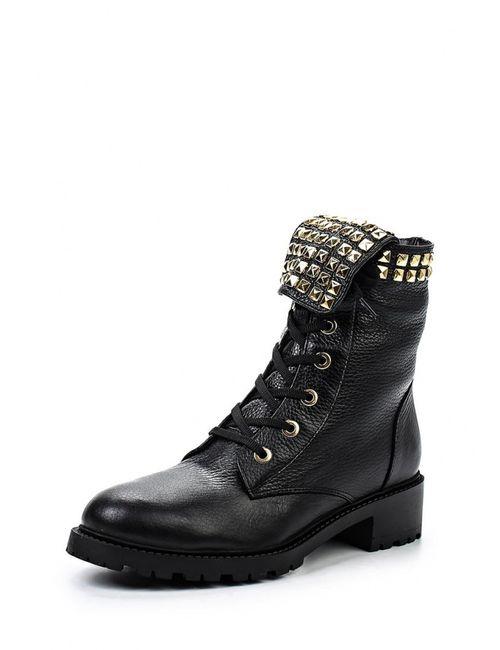 Grand Style | Женские Чёрные Ботинки