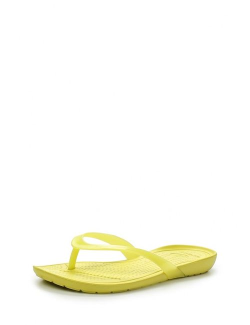 Crocs | Женские Жёлтые Сланцы