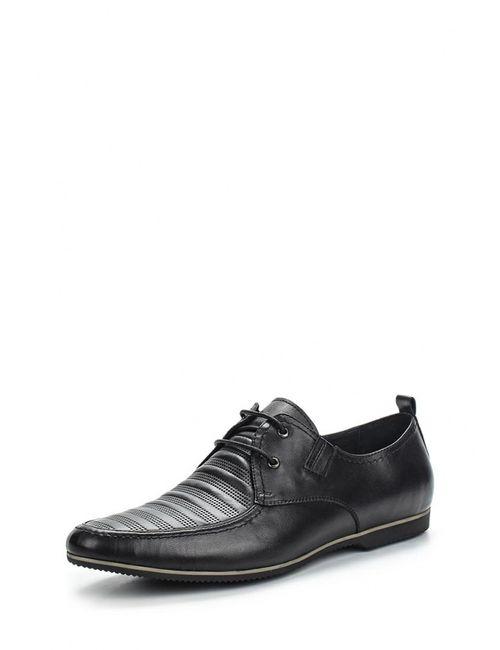Hortos   Мужские Чёрные Туфли