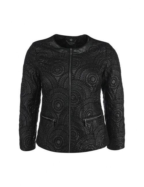 Lawine | Женская Чёрная Куртка Утепленная