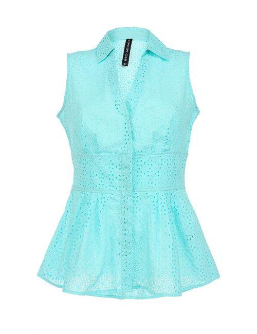 Concept Club | Женская Голуба Блуза