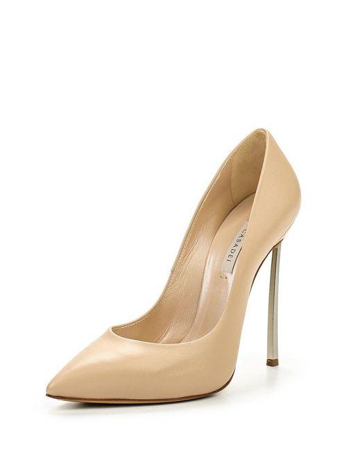 Casadei | Женские Бежевые Туфли