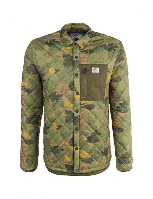 Penfield | Мужская Зелёная Куртка Утепленная