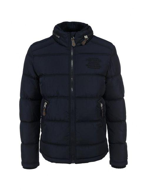 TOM TAILOR | Мужская Синяя Куртка Утепленная