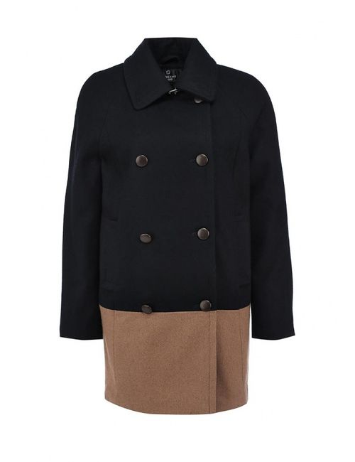 Concept Club | Женское Чёрное Пальто