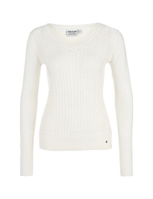 Finn Flare | Женский Молочный Пуловер