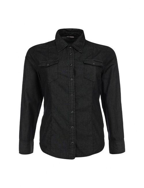 Fiorella Rubino   Женская Чёрная Рубашка Джинсовая
