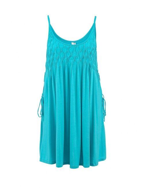 Seafolly | Женское Голубое Платье Пляжное