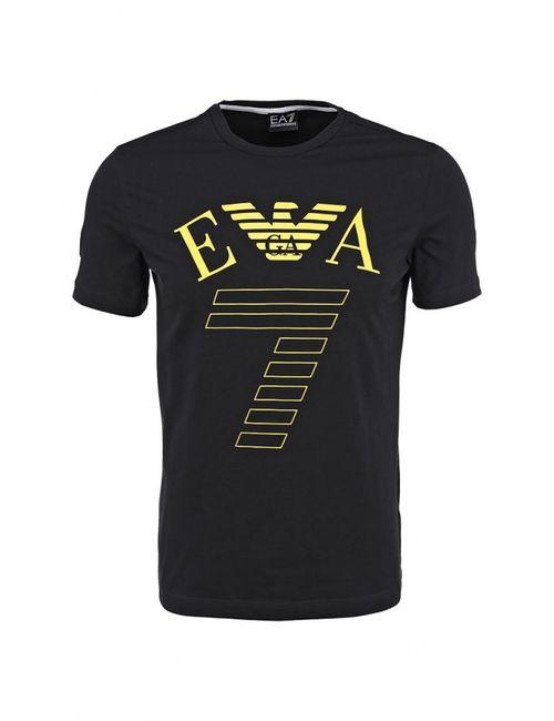 EA7 | Мужская Чёрная Футболка